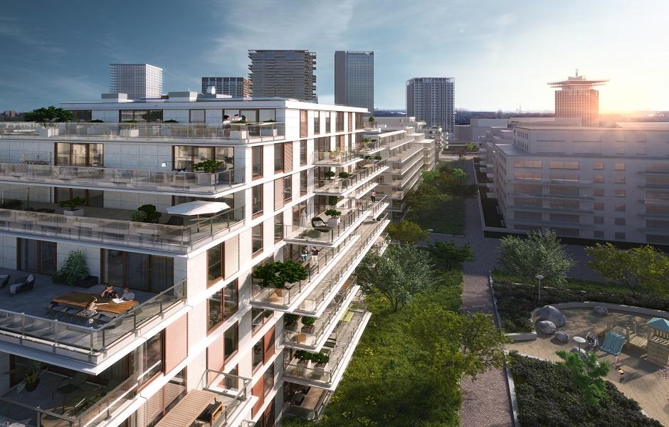 The Row Aan het IJ nieuwbouw Eefje Voogd makelaardij huur appartement Amsterdam